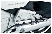 【HONDA】乘客腳踏板下外蓋:鍍鉻型式 - 「Webike-摩托百貨」