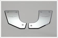 後搖臂軸心外蓋:鍍鉻型式