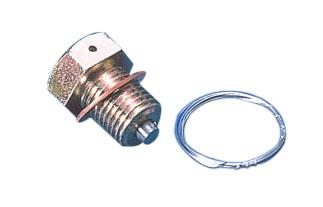 鎖線式洩油螺絲