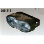 キジマ:KIJIMA/ヘッドライト ウェーブタイプ 12V55/55W H3 ブルーレンズ