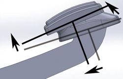 【KIJIMA】煞車踏桿上移固定座
