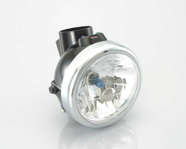 多角度反光片頭燈總成
