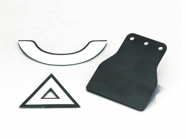 【KITACO】貼紙&固定板組(日本原付二種車輛用) - 「Webike-摩托百貨」