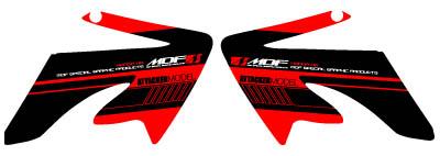 XR50/100MOTA越野樣式側蓋貼紙