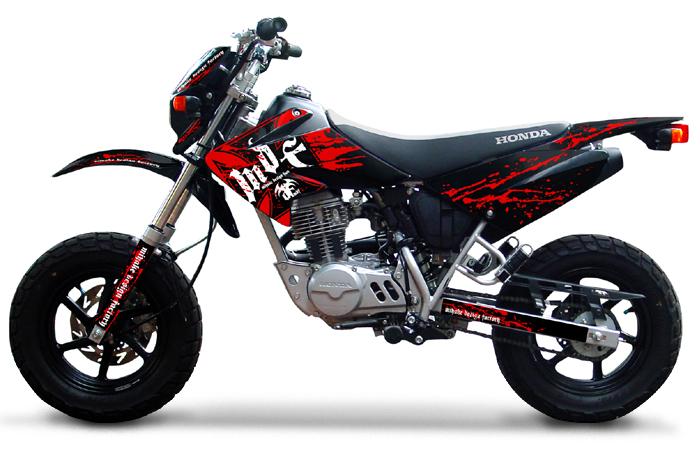 【MDF】XR50/100MOTABloody貼紙 水箱罩貼紙組 - 「Webike-摩托百貨」