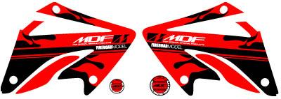 【MDF】XR250Fire貼紙 水箱罩貼紙組 - 「Webike-摩托百貨」