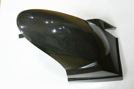 碳纖維後輪內土除