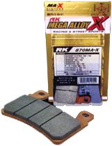 Mega alloy X 煞車皮(來令片)