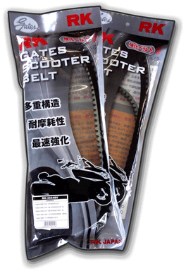 【RK】GATES 強化型皮帶 - 「Webike-摩托百貨」
