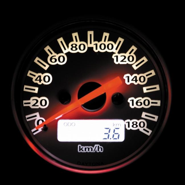【DAYTONA】電子式速度錶 - 「Webike-摩托百貨」