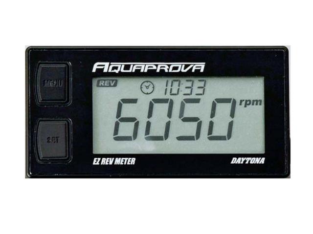 AQUAPROVA EZ REV METER 防水數位儀錶