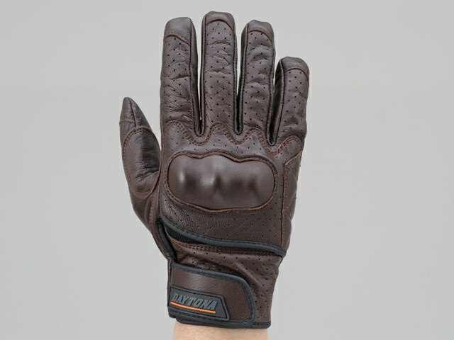 山羊皮打孔網格手套 保護型式