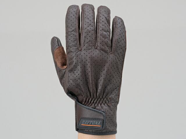 山羊皮打孔網格手套 標準型式