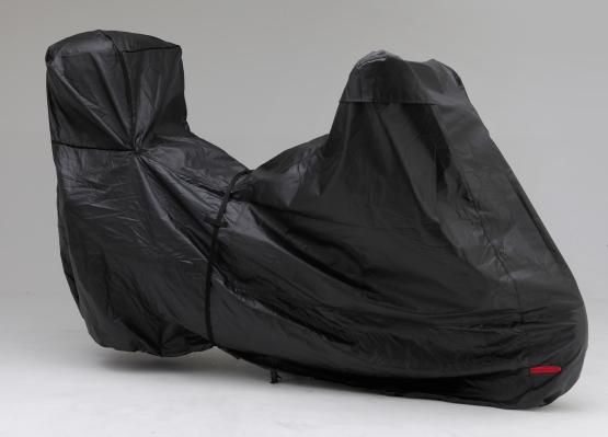 高品質黑色摩托車罩