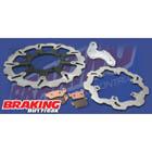 ブレーキング:BRAKING/ストリート用320mmウェーブディスクフルキット