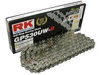 【RK】Super 銀色系列鏈條 (GP525UWR) - 「Webike-摩托百貨」