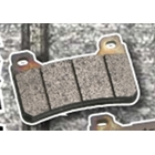 SBS Racing dual carbon 734 DC Brake pad