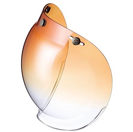 寬邊泡泡安全帽鏡片 漸層透視鏡面