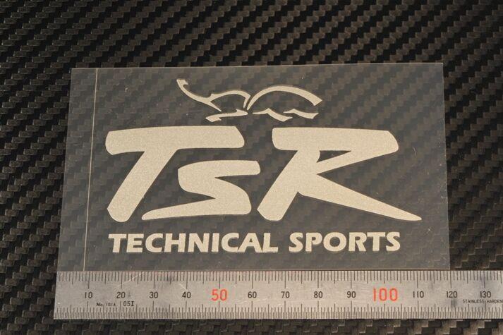 【TSR】TSR LOGO貼紙M - 「Webike-摩托百貨」