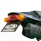【DUGOUT】滑胎車專用改裝後牌照架