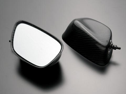 全方向可調式碳纖維後視鏡 整流罩款式用 Type1