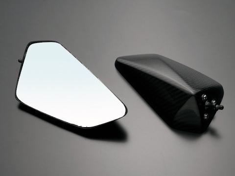 全方向可調式碳纖維後視鏡 整流罩款式用 Type4