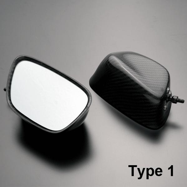 碳纖維後視鏡 Type 1