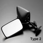 【A-TECH】碳纖維後視鏡 Type 2