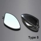 【A-TECH】碳纖維後視鏡 Type 5