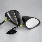 【A-TECH】全方向可調式碳纖維後視鏡 整流罩款式用 Type6