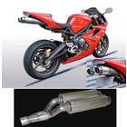 【ASAHINA RACING】EXTEC 鈦合金雙管排氣管尾段