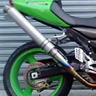 【ASAHINA RACING】EXTEC Titanium formula 全段排氣管 (搭配GP formula排氣管尾段)