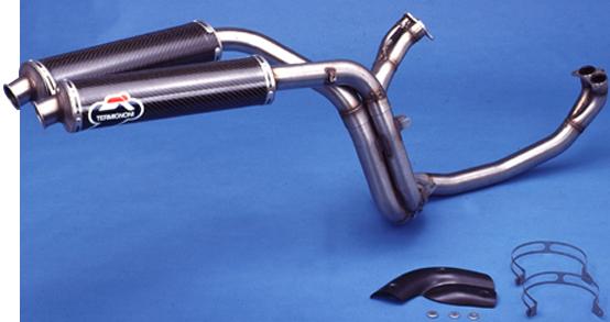 全段排氣管 (雙排氣管)