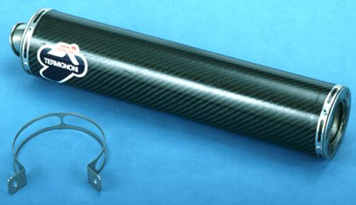 排氣管尾段 (單排氣管/螺絲固定式)