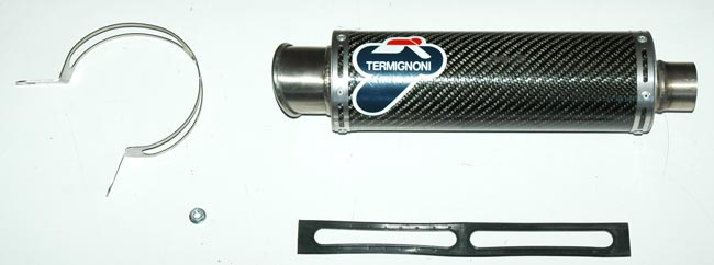 【TERMIGNONI】排氣管尾段 (單排氣管) - 「Webike-摩托百貨」