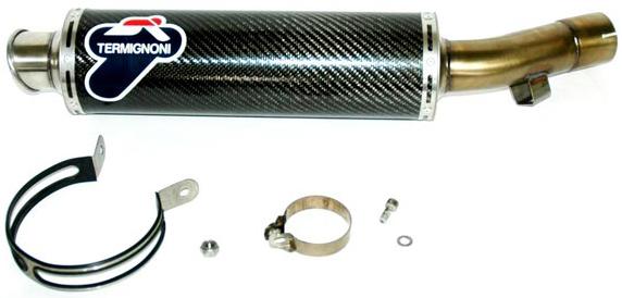 【TERMIGNONI】單消音器排氣管尾段 - 「Webike-摩托百貨」