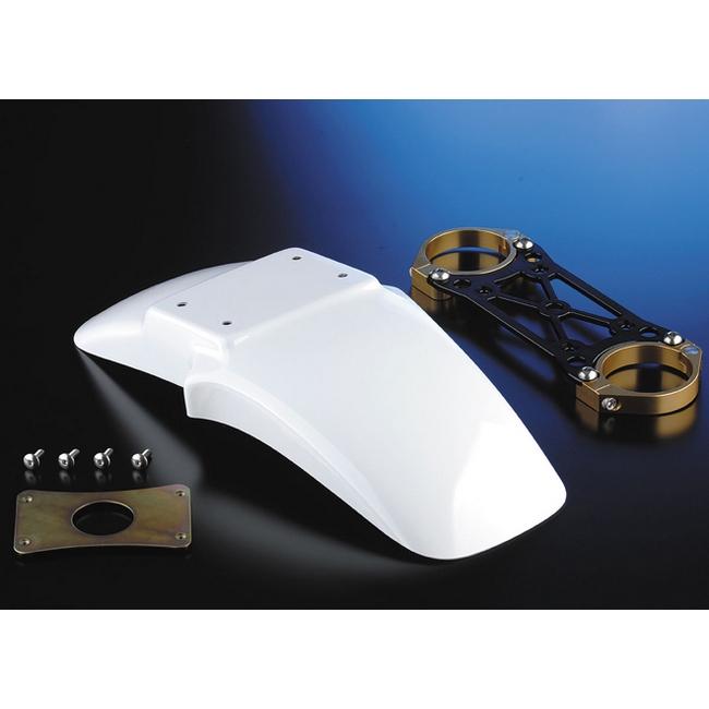 【NITRO RACING】OHLINSφ43正立式前叉専用 FRP前土除/前叉穩定器(手銬)套件 (Naked 17・18吋) - 「Webike-摩托百貨」