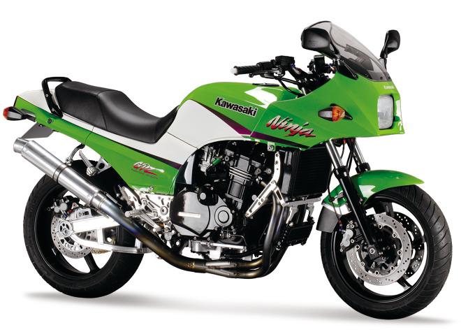 4in1 機械彎曲 鈦合金 全段排氣管 (Long Tail UP) GPZ750R/GPZ900R Ninja用