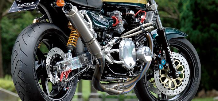 【NITRO RACING】4in1 手工彎曲 鈦合金 全段排氣管(Long Tail) Z1/Z2/Mk-2/Z1-R/Z750FZ-1用 - 「Webike-摩托百貨」