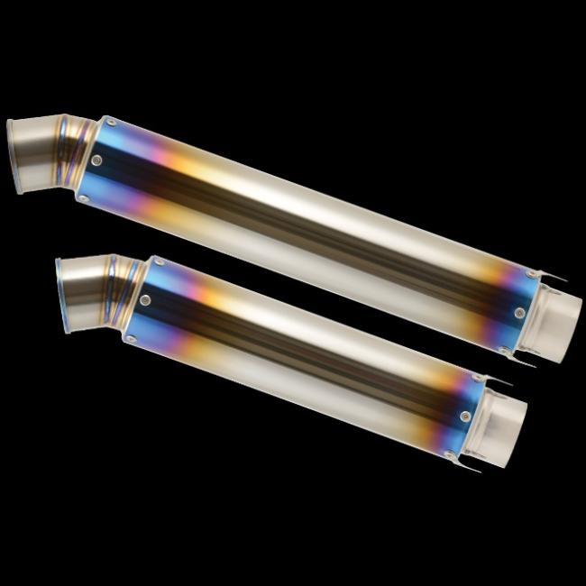 Straight 鈦合金排氣管尾段 V-2 φ85