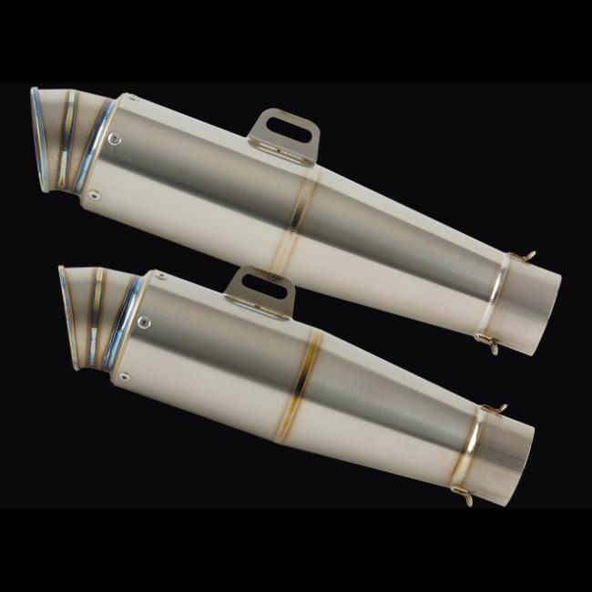 Conical 鈦合金排氣管尾段 V-2