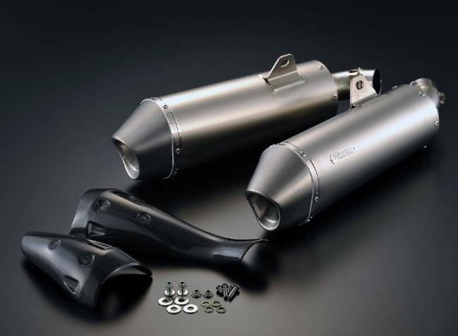 鈦合金排氣管尾段