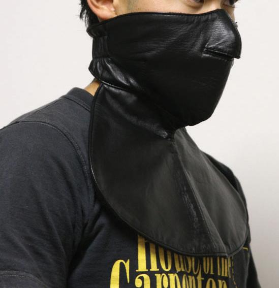 皮革 面罩
