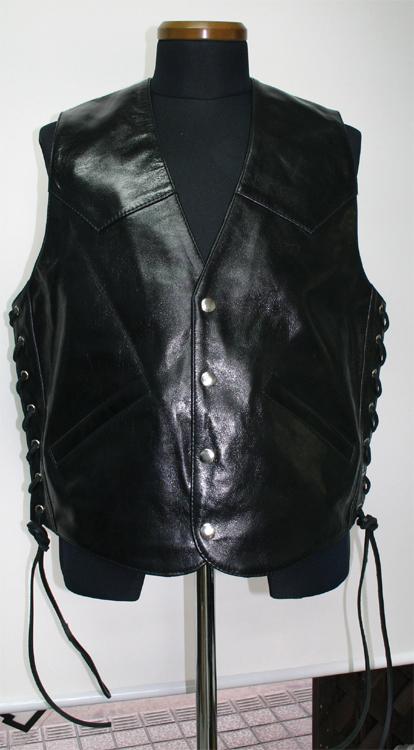 皮革 背心 3S-V2B