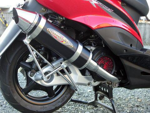 Metal Hybrid Stinger Greed 全段排氣管 黑