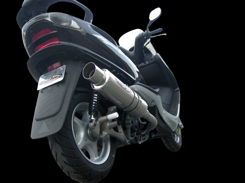 【BURIAL】Metal Hybrid Drager 全段排氣管 金 - 「Webike-摩托百貨」