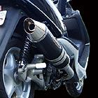 【BURIAL】Metal Hybrid Stinger 全段排氣管 黑
