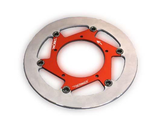 【BERINGER】AERONAL DISC 不銹鋼煞車碟盤 左用 (鈦色) - 「Webike-摩托百貨」