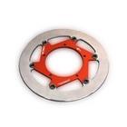 【BERINGER】AERONAL DISC 不銹鋼煞車碟盤 左用 (紅色)
