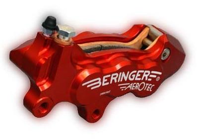 AEROTEC CALIPER 煞車卡鉗 左用 (紅色)